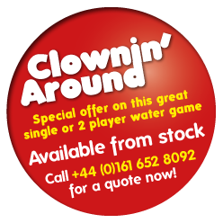 Special offer on Clowning around available from stock - call 0044(0)161 652 8092 for a quote